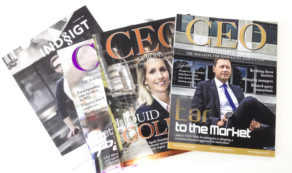 CEO Magazine Europe, SEES media
