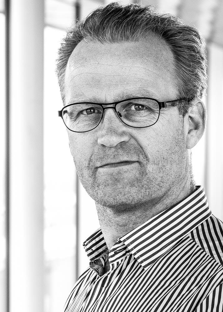 Portræt af Presseansvarlig Peter Høyer, medarbejder i Codan Forsikring, april 2013. Foto: Erhvervsfoto Danmark, Ulrik M. Eriksen.