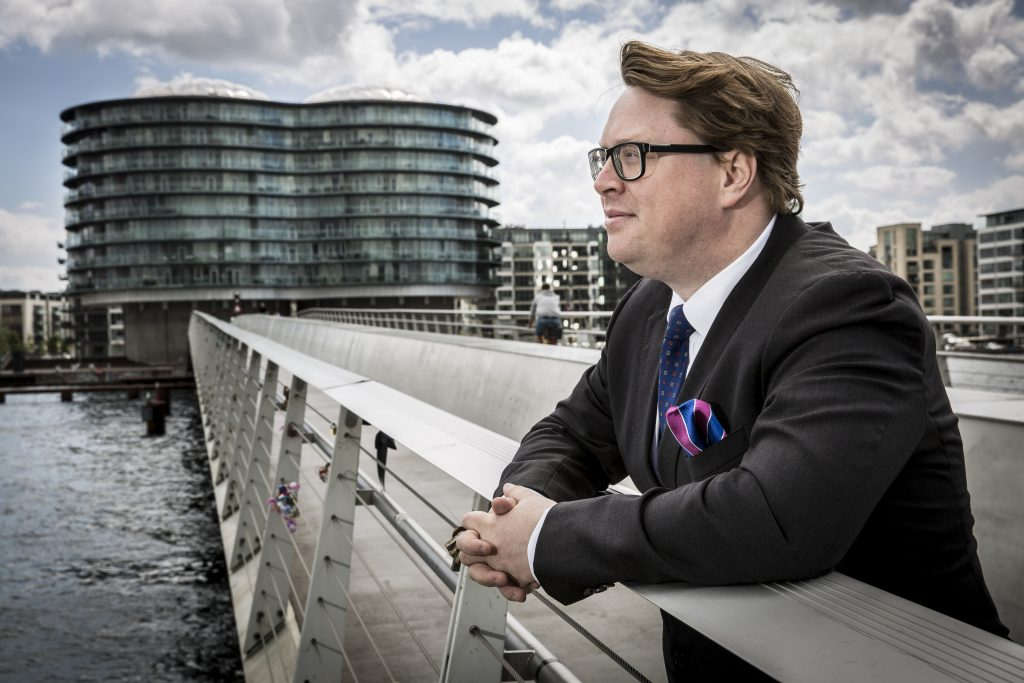 Portræt, David Frølich